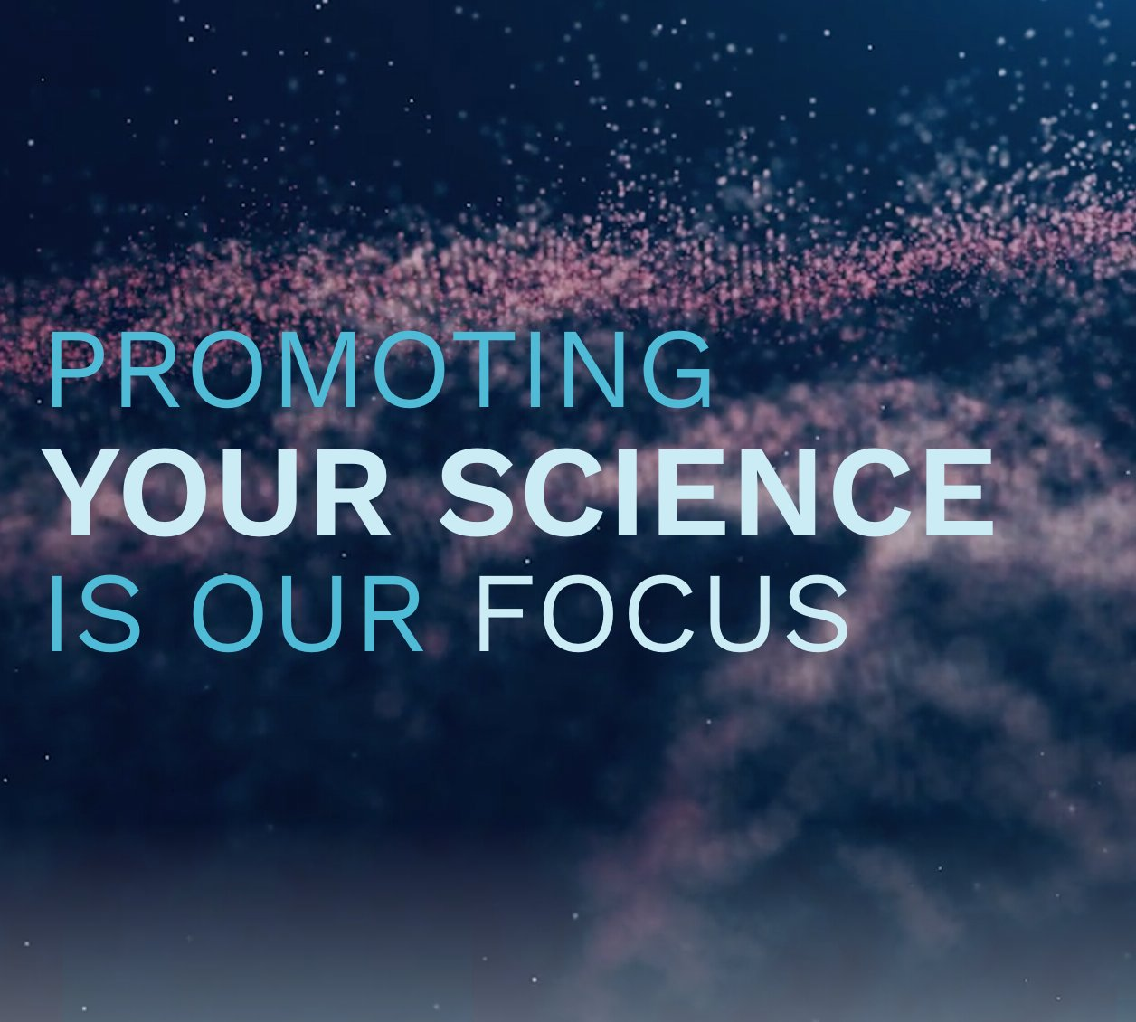 Promoting your science is our focus - ESCI